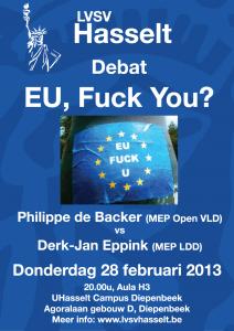 Affiche debat EU